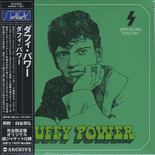 Duffy Power Duffy Power CD album (CDLP) Japanese UFPCDDU399298