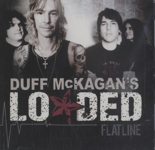 "Duff McKagan's Loaded Flatline CD single (CD5 / 5"") US DU8C5FL468706"