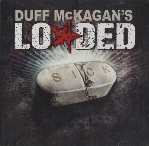 Duff McKagan's Loaded Sick CD-R acetate US DU8CRSI465908