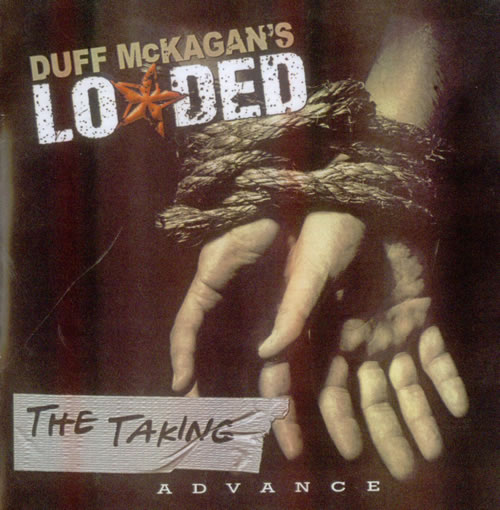 Duff McKagan's Loaded The Taking CD-R acetate US DU8CRTH538575