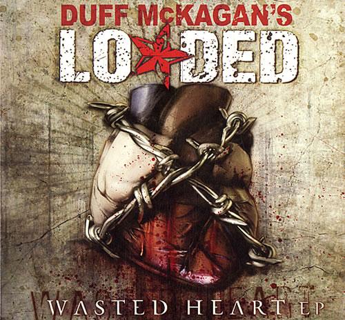 "Duff McKagan's Loaded Wasted Heart EP CD single (CD5 / 5"") German DU8C5WA483329"