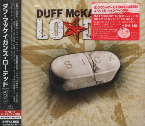 Duff McKagan Sick CD album (CDLP) Japanese DMCCDSI661794
