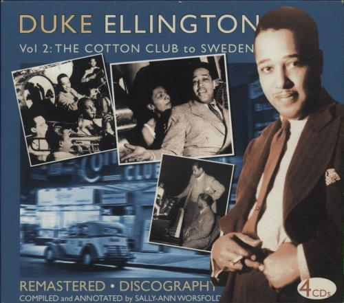 Duke Ellington Duke Ellington, Volume 2 - The Cotton Club To Sweden (1929-1940) CD Album Box Set UK DA3DXDU670237