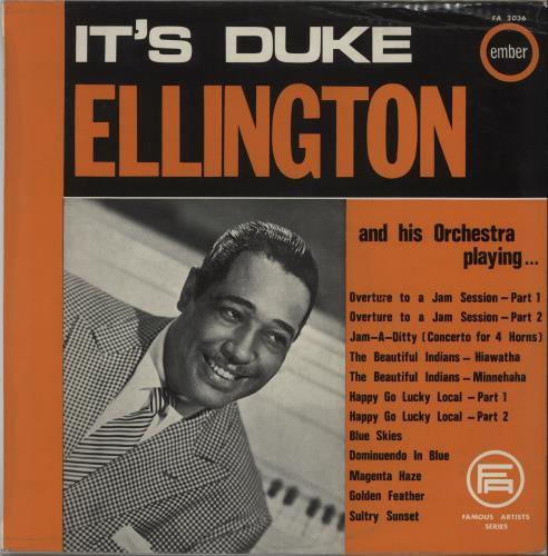 Duke Ellington It's Duke Ellington And His Orchestra Playing... vinyl LP album (LP record) UK DA3LPIT670235