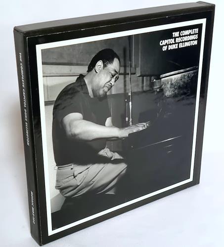 Duke Ellington The Complete Capitol Recordings Of Duke Ellington CD Album Box Set US DA3DXTH667785
