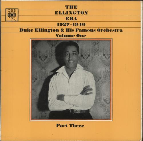 Duke Ellington The Ellington Era 1927-1940: Volume One, Part Three vinyl LP album (LP record) UK DA3LPTH710339