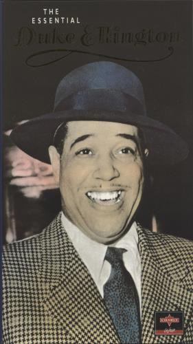 Duke Ellington The Essential Duke Ellington 4-CD album set UK DA34CTH727149