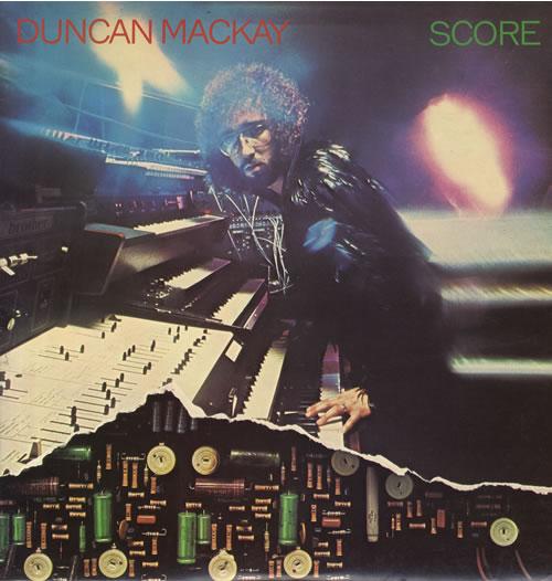 Duncan Mackay Score vinyl LP album (LP record) UK D8ZLPSC564999