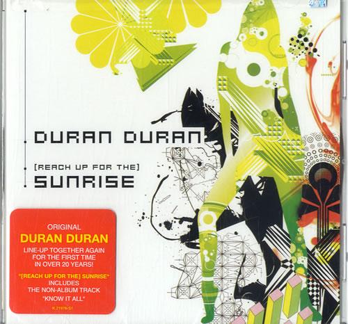 "Duran Duran (Reach Up For The) Sunrise - Sealed CD single (CD5 / 5"") US DDNC5RE311035"