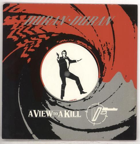 "Duran Duran A View To A Kill - Die-Cut Factory Sample 7"" vinyl single (7 inch record) UK DDN07AV739833"