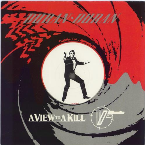 "Duran Duran A View To A Kill - Die-Cut Sleeve 7"" vinyl single (7 inch record) UK DDN07AV29550"