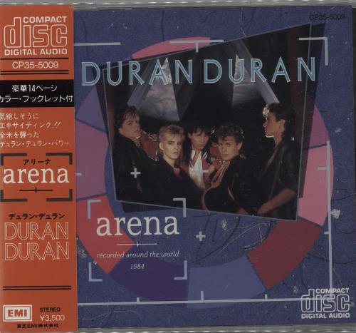 Duran Duran Arena CD album (CDLP) Japanese DDNCDAR149793