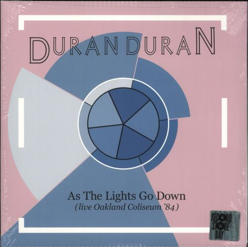 Duran Duran As The Lights Go Down (Live) - RSD19 - Sealed 2-LP vinyl record set (Double Album) UK DDN2LAS718467