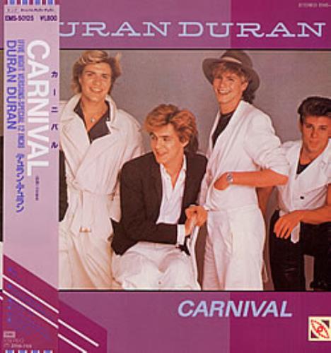"Duran Duran Carnival + Obi 12"" vinyl single (12 inch record / Maxi-single) Japanese DDN12CA238490"