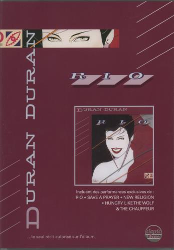 Duran Duran Classic Albums: Rio DVD French DDNDDCL674547