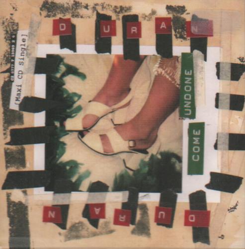 """Duran Duran Come Undone CD single (CD5 / 5"""") US DDNC5CO15644"""