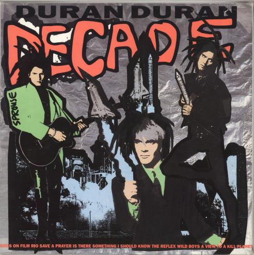 Duran Duran Decade vinyl LP album (LP record) UK DDNLPDE231706