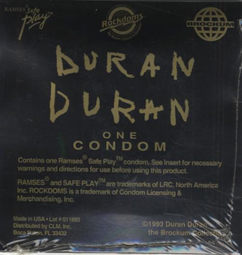 Duran Duran Duran Duran Rockdom memorabilia US DDNMMDU434265