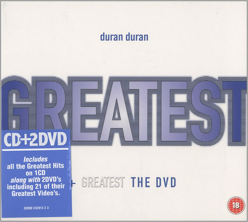 Duran Duran Gift Pack 3-disc CD/DVD Set UK DDN3DGI451101