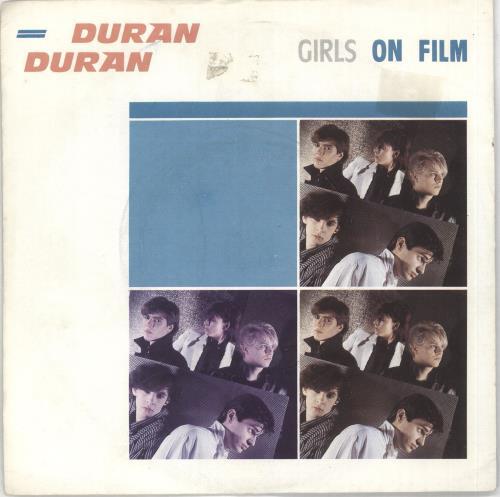 "Duran Duran Girls On Film - 4pr - Sleeve 7"" vinyl single (7 inch record) UK DDN07GI35103"