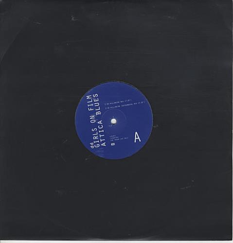 "Duran Duran Girls On Film - Attica Blues Mixes 12"" vinyl single (12 inch record / Maxi-single) UK DDN12GI124051"