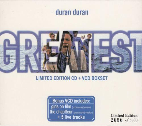 Duran Duran Greatest 2 CD album set (Double CD) Hong Kong DDN2CGR132539