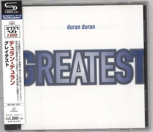 Duran Duran Greatest SHM CD Japanese DDNHMGR740483
