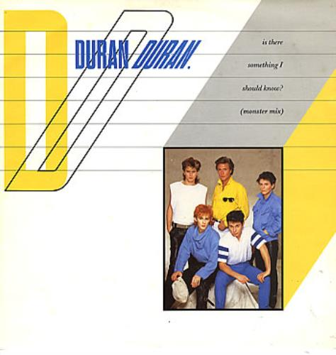 """Duran Duran Is There Something I Should Know? 12"""" vinyl single (12 inch record / Maxi-single) UK DDN12IS12174"""