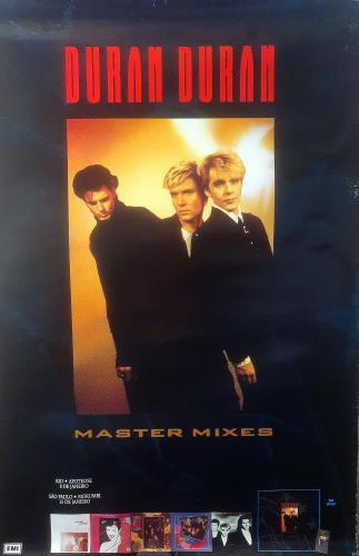 Duran Duran Master Mixes - Brazilian Promo Poster poster Brazilian DDNPOMA437698