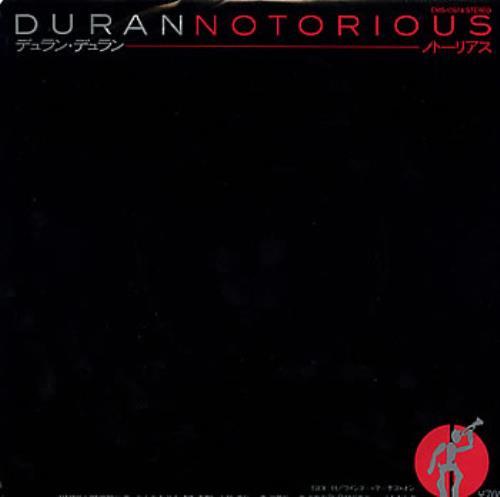 "Duran Duran Notorious 7"" vinyl single (7 inch record) Japanese DDN07NO24738"