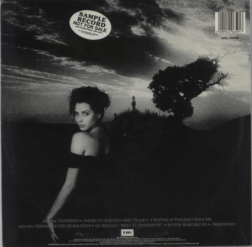 Duran Duran Notorious vinyl LP album (LP record) Australian DDNLPNO26273