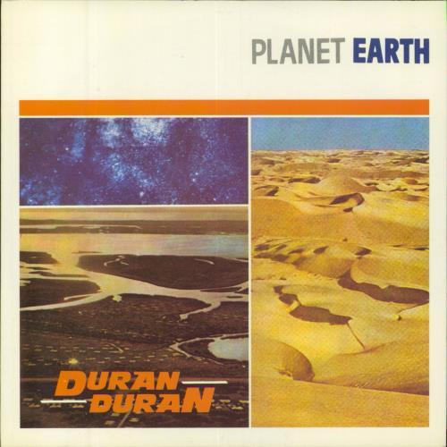 "Duran Duran Planet Earth - 1st 7"" vinyl single (7 inch record) UK DDN07PL10259"