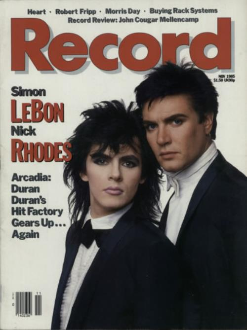 Duran Duran Record - Nov 1985 magazine US DDNMARE613531
