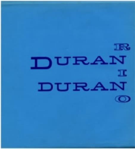 Duran Duran Rio + envelope vinyl LP album (LP record) French DDNLPRI175467
