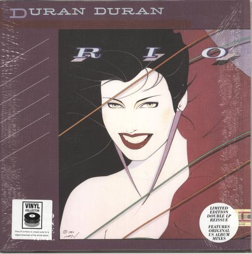 Duran Duran Rio - 180gm - Opened shrink 2-LP vinyl record set (Double Album) UK DDN2LRI718455