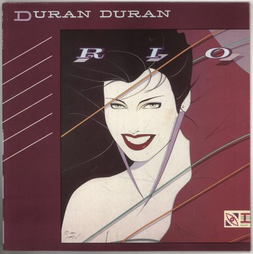 Duran Duran Rio - 1st vinyl LP album (LP record) UK DDNLPRI73537