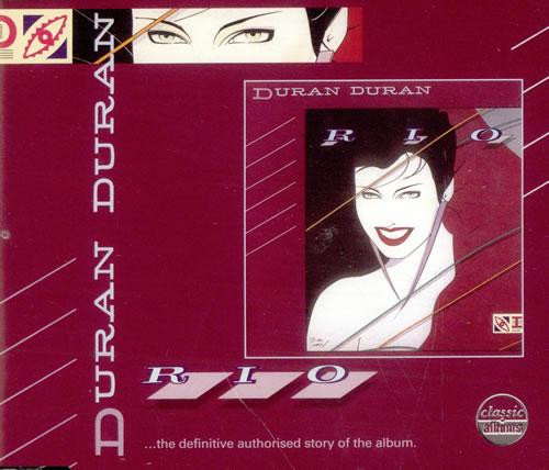 """Duran Duran Rio Classic Album Sampler CD single (CD5 / 5"""") UK DDNC5RI512052"""