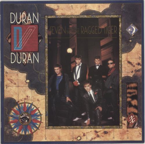 Duran Duran Seven And The Ragged Tiger vinyl LP album (LP record) UK DDNLPSE78733