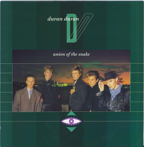 "Duran Duran Union Of The Snake (The Monkey Mix) 12"" vinyl single (12 inch record / Maxi-single) UK DDN12UN12181"