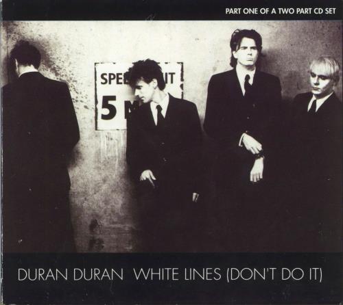 "Duran Duran White Lines Part 1 CD single (CD5 / 5"") UK DDNC5WH47646"