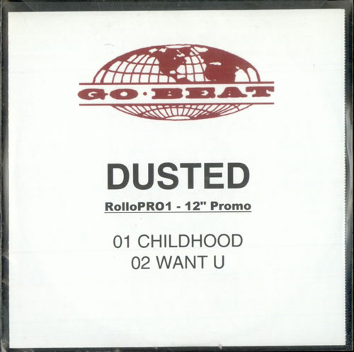 Dusted Childhood CD-R acetate UK DTDCRCH498950