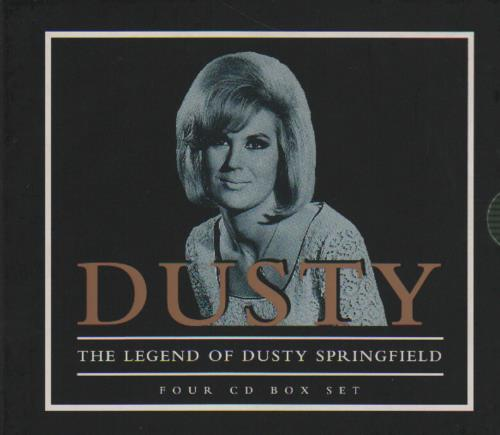Dusty Springfield Dusty: The Legend Of Dusty Springfield box set UK DUSBXDU31065