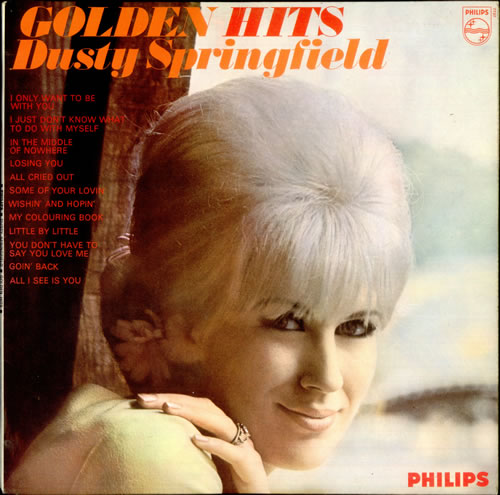 Dusty Springfield Golden Hits vinyl LP album (LP record) UK DUSLPGO529692