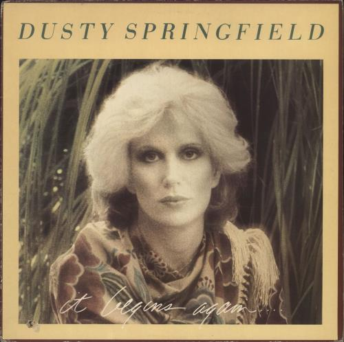 Dusty Springfield It Begins Again UK vinyl LP album (LP record)