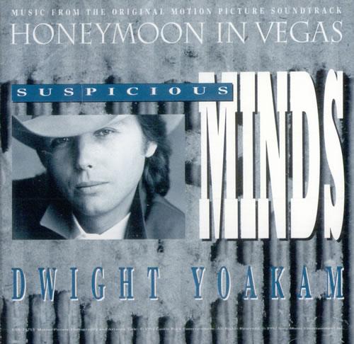 "Dwight Yoakam Suspicious Minds CD single (CD5 / 5"") US YOAC5SU500043"