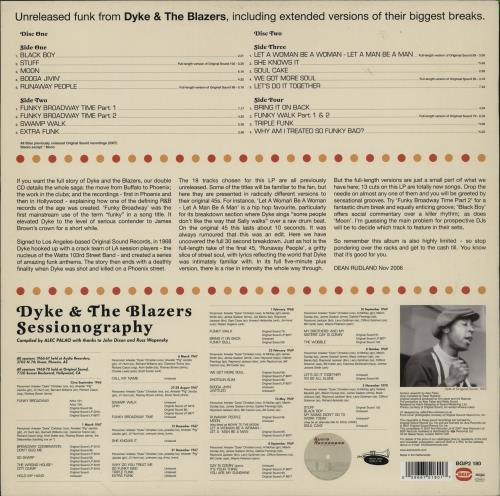 Dyke & The Blazers We Got More Soul: The Ultimate Broadway Funk 2-LP vinyl record set (Double Album) UK F7K2LWE754437