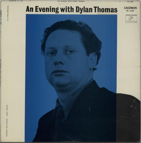 Dylan Thomas An Evening With Dylan Thomas Reading His Own And Other Poems vinyl LP album (LP record) US DK5LPAN650798