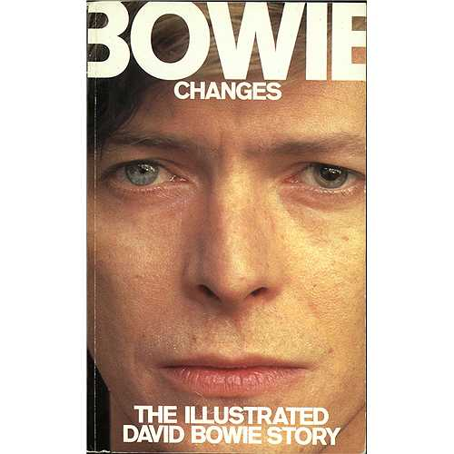 David Bowie Changes - The Illustrated David Bowie Story book UK BOWBKCH411177