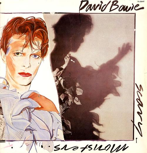 David Bowie Scary Monsters vinyl LP album (LP record) German BOWLPSC556308