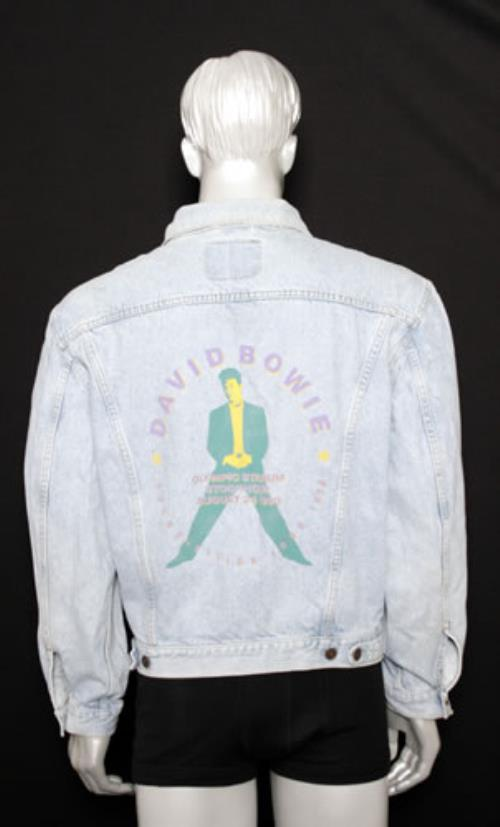 David Bowie Soundvision Tour 1990 jacket UK BOWJASO377914